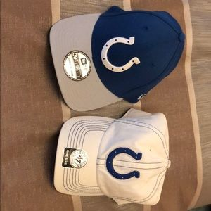 NWT Indianapolis Colts Football hat OS and S/M